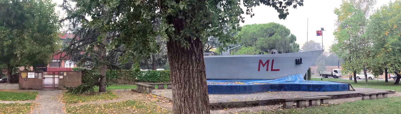 L'ingresso della clinica Avant in via Pomposa a Ferrara