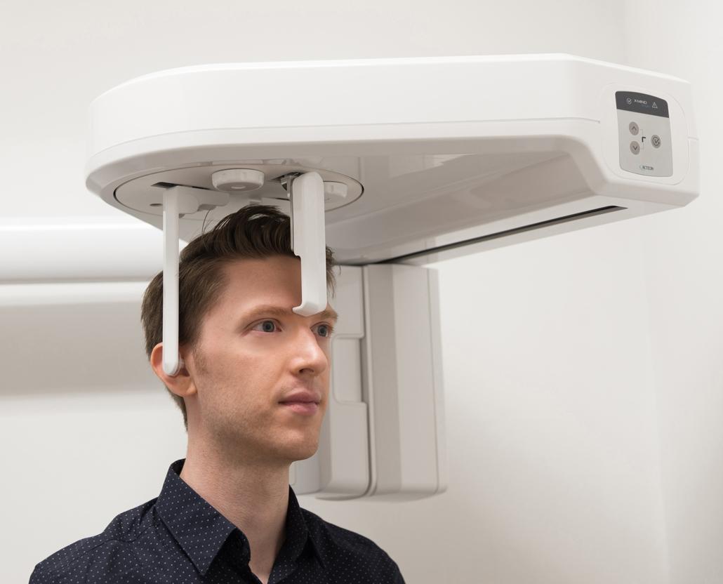 Teleradiografia del cranio per un'analisi cefalometrica
